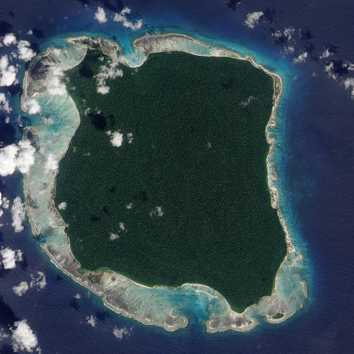 forbidden places in India North Sentinel Island