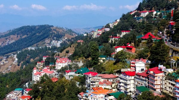 hill stations in india with snowfall