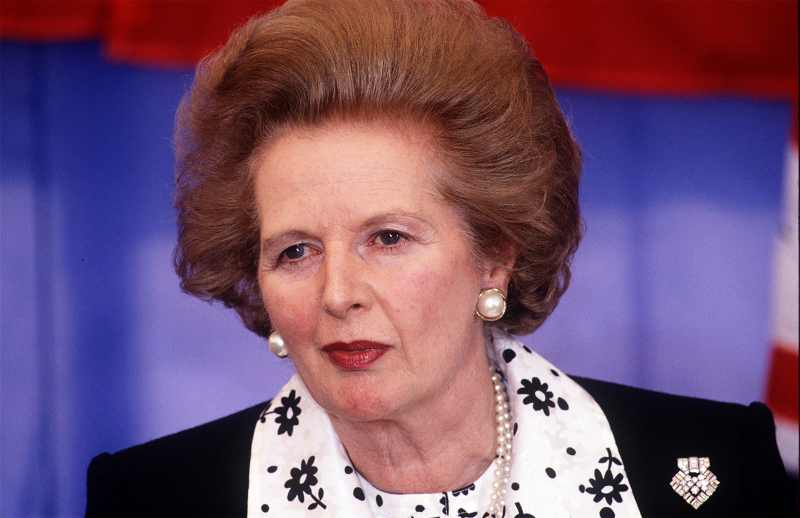 Margaret Thatcher Powerful Women in History