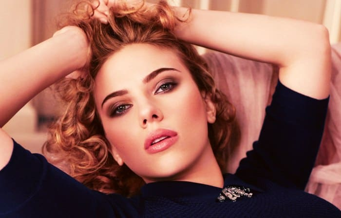 Scarlet Johansson is a hot Hollywood actress