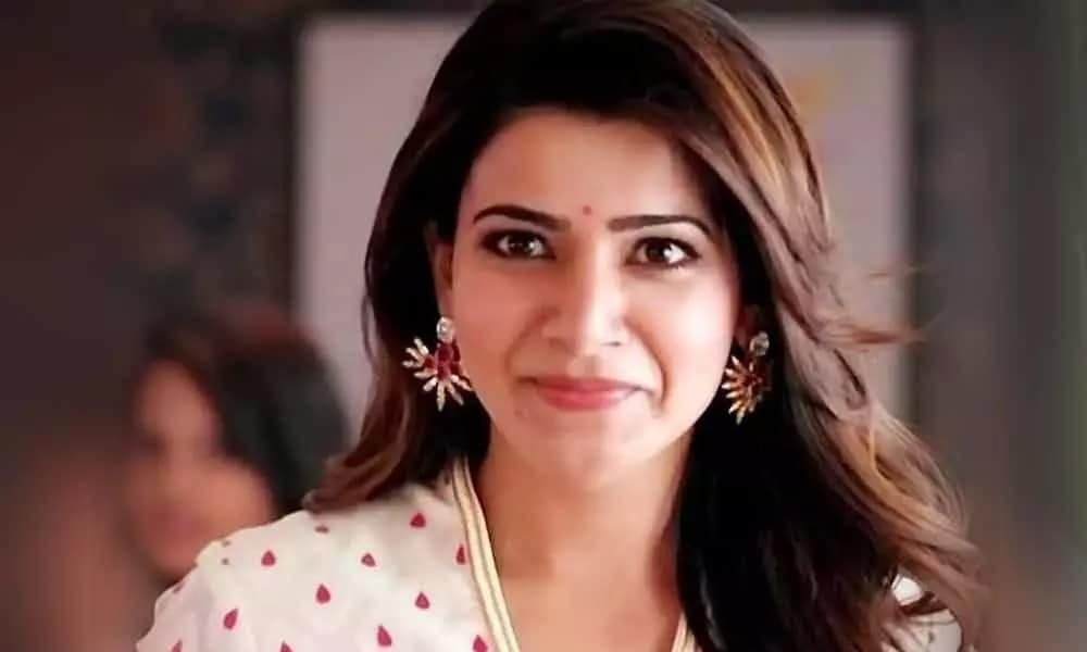 tamil movie actress Samantha Akkineni