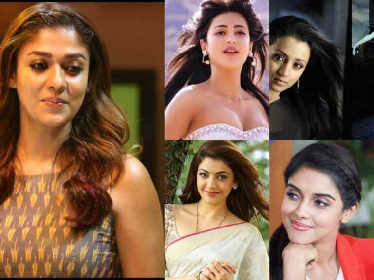 Top 10 beautiful Tamil actress name list with photo